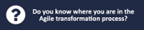 Do you know where you are in the  Agile transformation process?