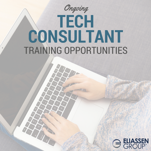 Ongoing Training Opportunities for Tech Consultants